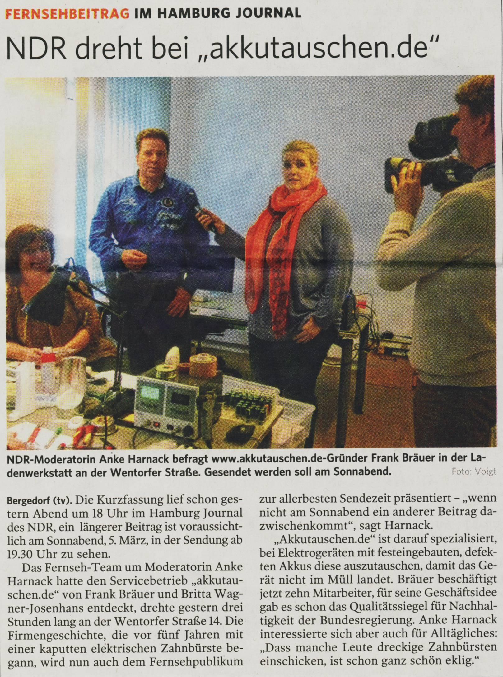 BZ 02 März 2016 - Presse
