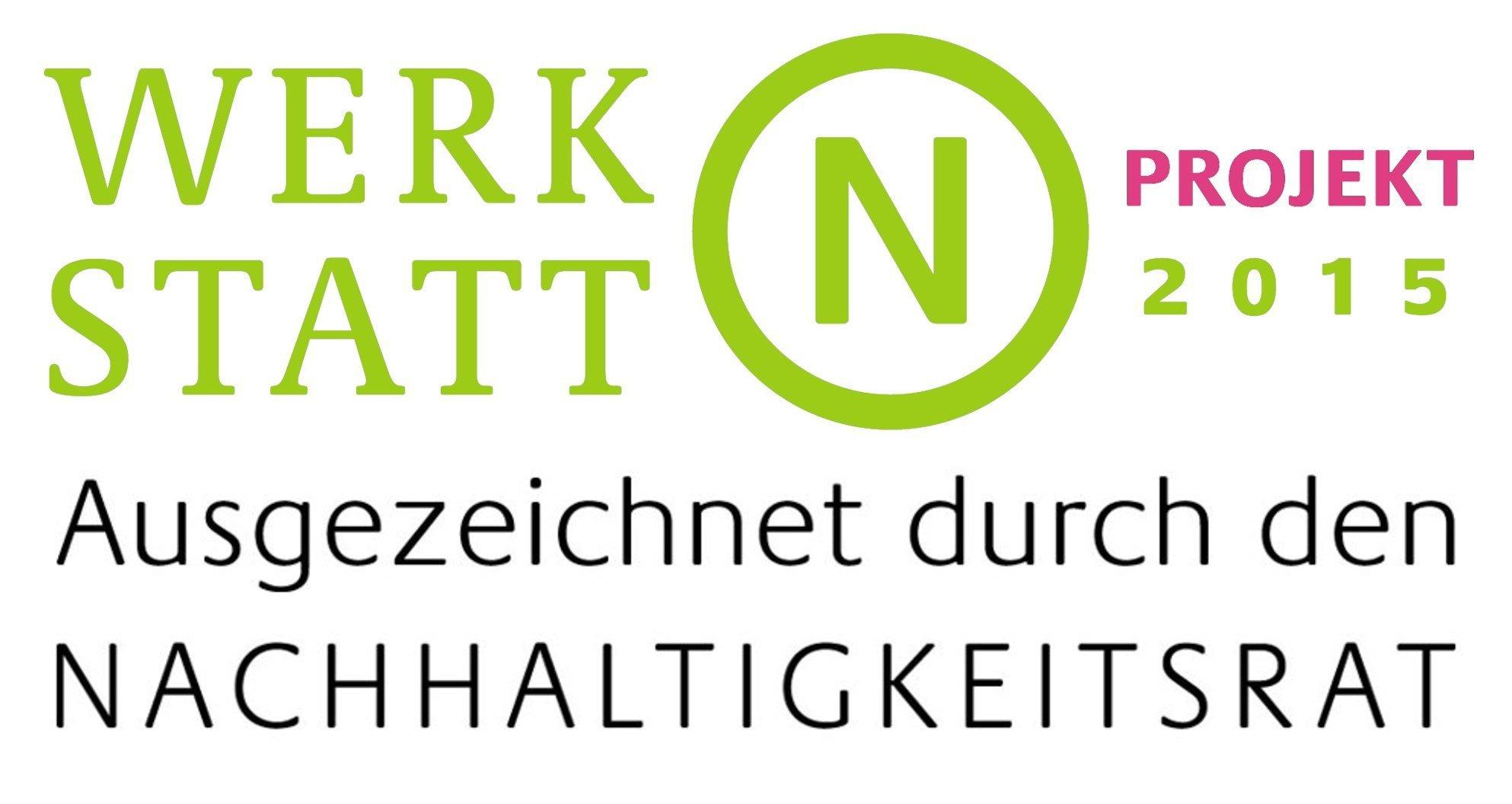 Logo Werkstatt N - Auszeichnungen