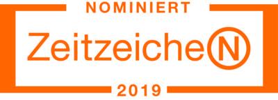 Nominiert ZeitzeicheN 2019 - Auszeichnungen