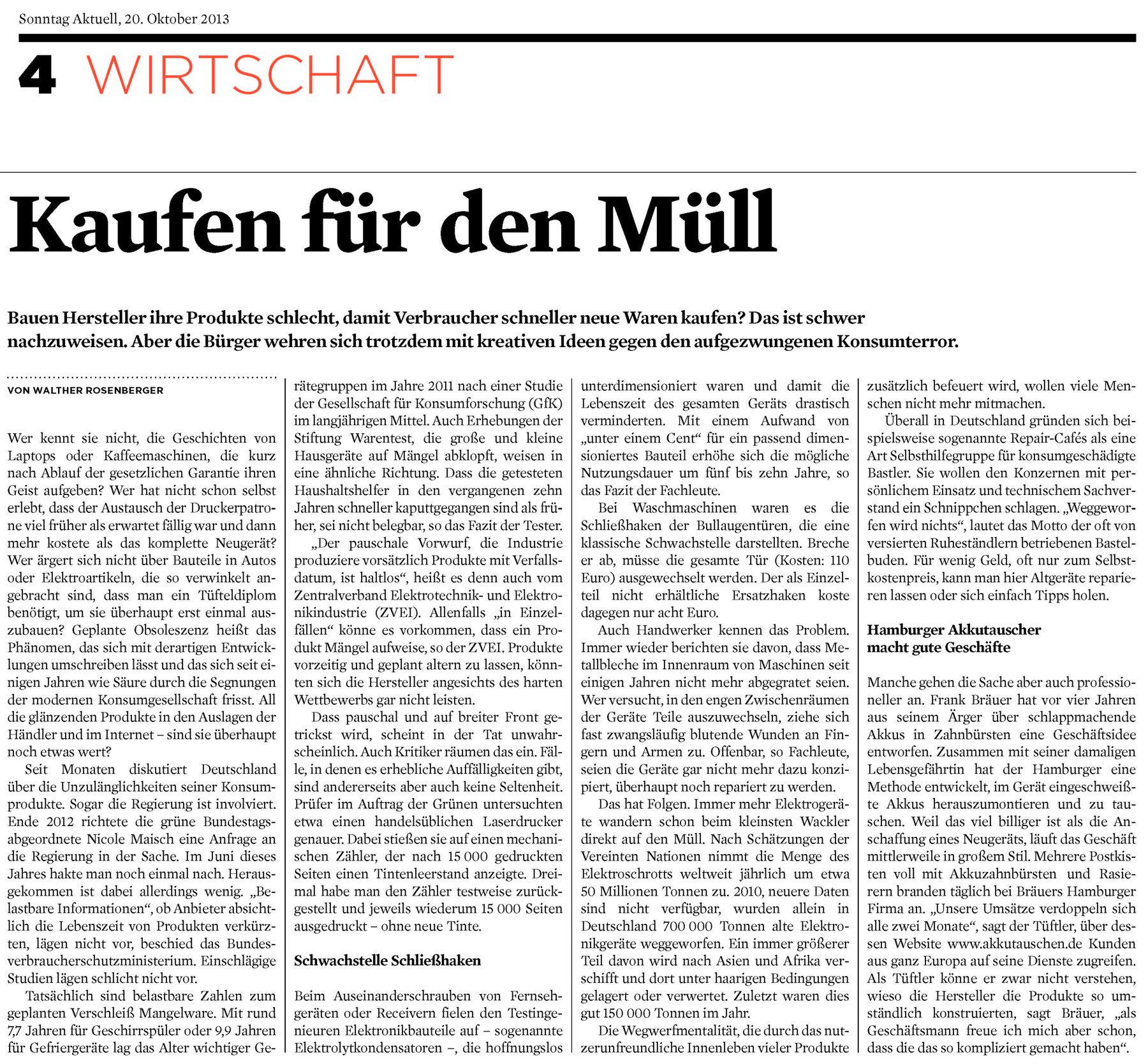StuttgarterZeitung - Presse