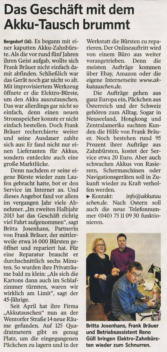 Zeitung 04 2014 - Presse